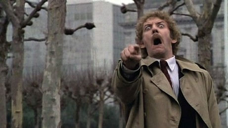 Ending of The Invasion of the Body Snatchers