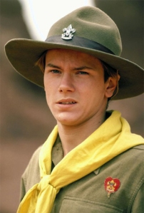 River Phoenix as Indiana Jones