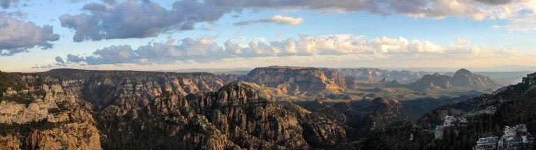 Overlooking Sedona